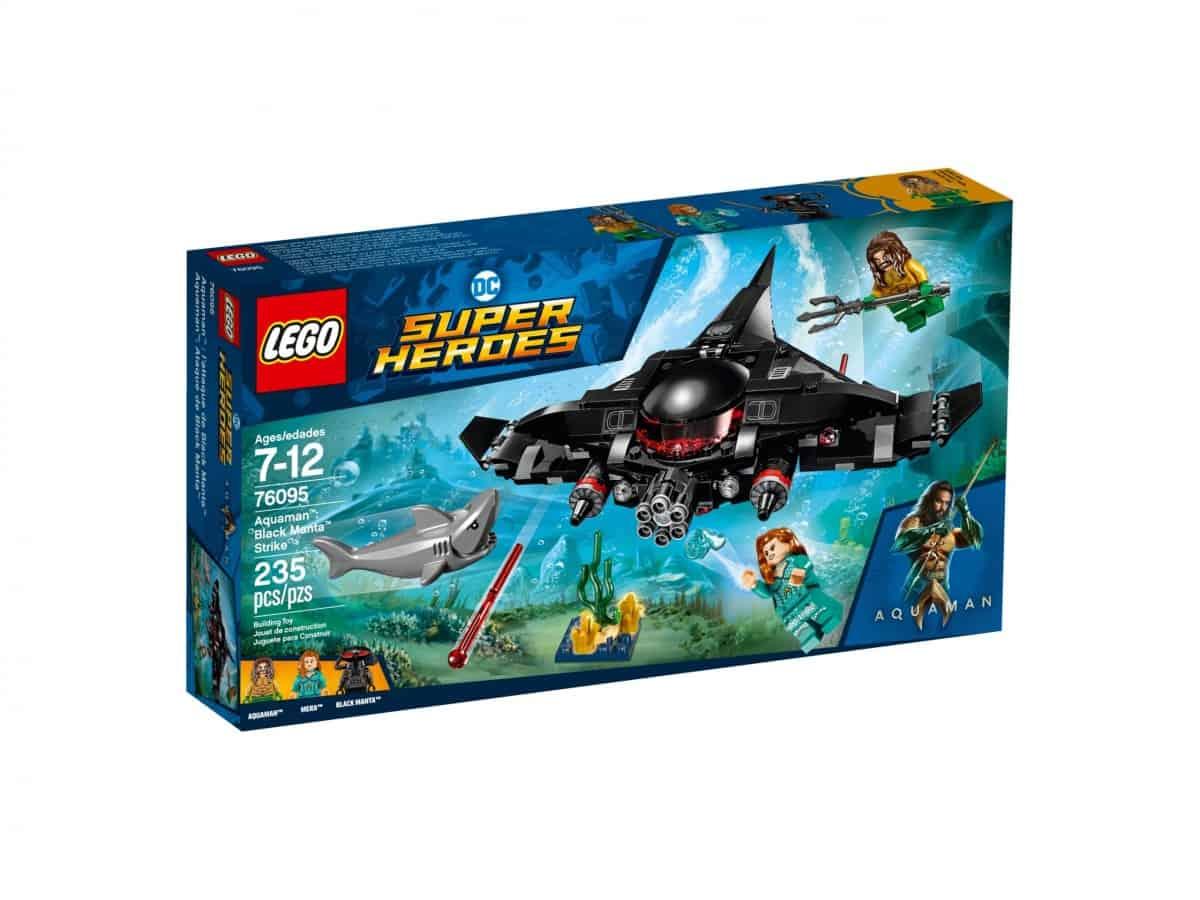lego 76095 aquaman black manta strike scaled