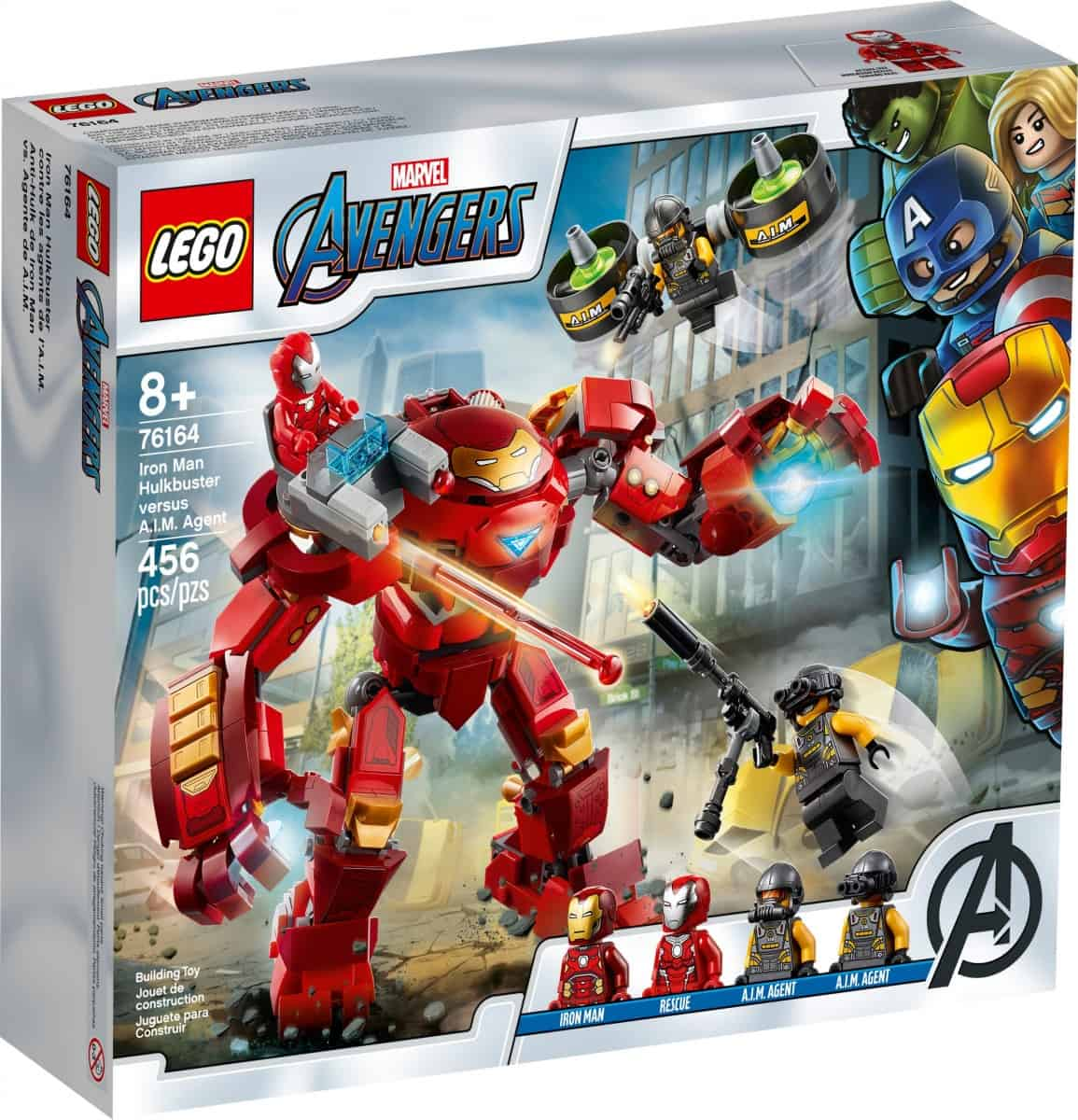 lego 76164 iron man hulkbuster versus a i m agent scaled