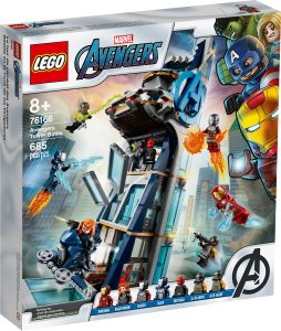 lego 76166 avengers tower battle