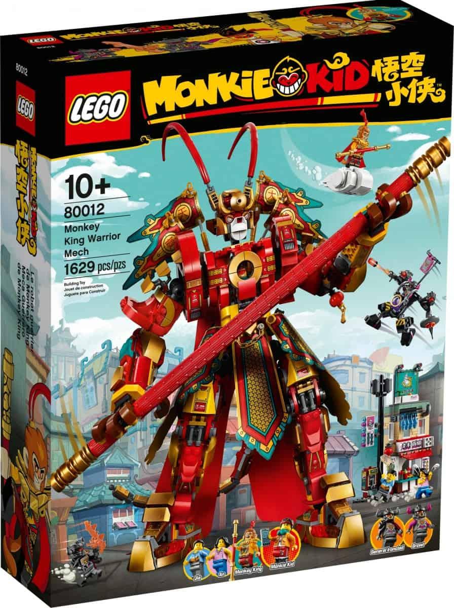 lego 80012 monkey king warrior mech scaled