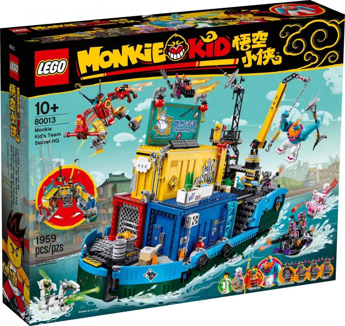 lego 80013 monkie kids team secret hq scaled