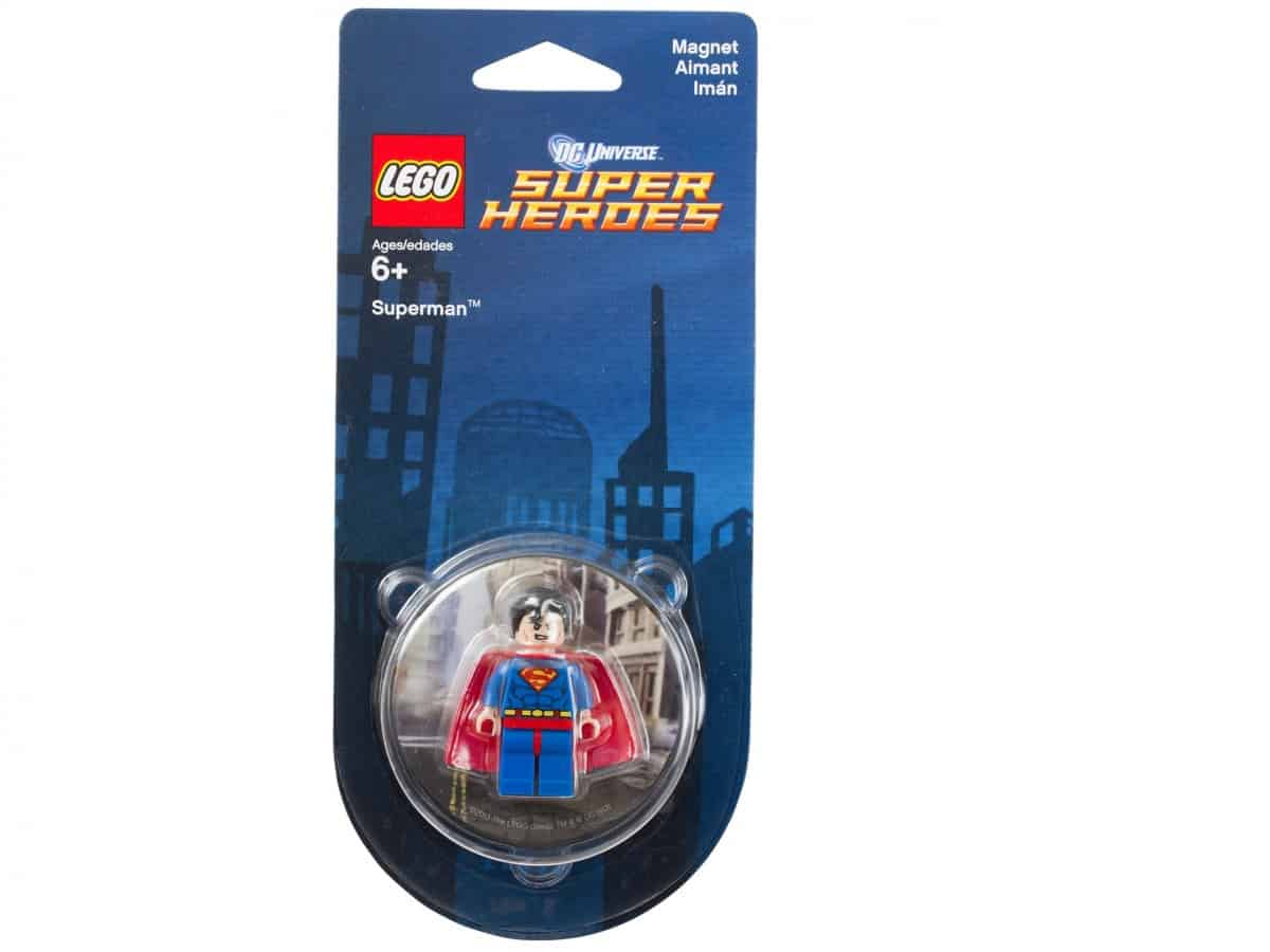 lego 850670 dc comics super heroes superman magnet scaled