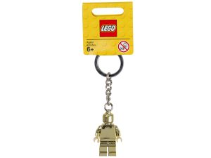 lego 850807 gold minifigure key chain