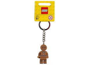 lego 851394 iconic gingerbread keyring