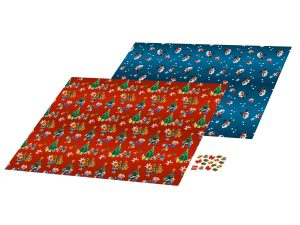 lego 851407 holiday wrapping paper