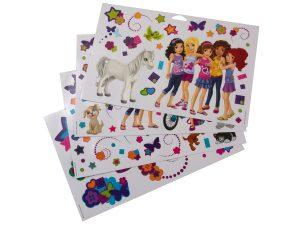 lego 851417 friends wall stickers