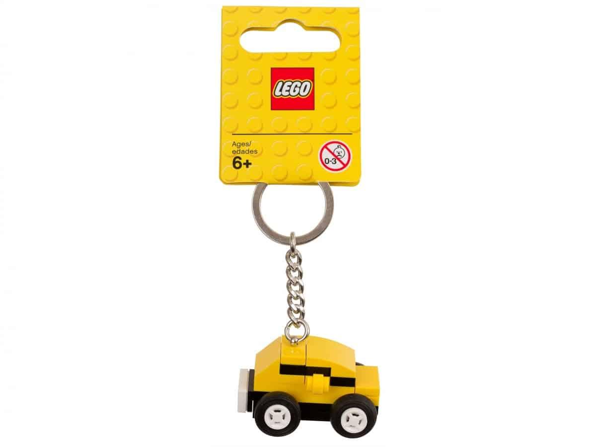 lego 853573 yellow car bag charm scaled