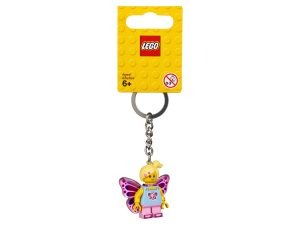 lego 853795 butterfly girl key chain