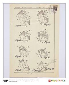 spanish patent lego 5006001 elements 1958