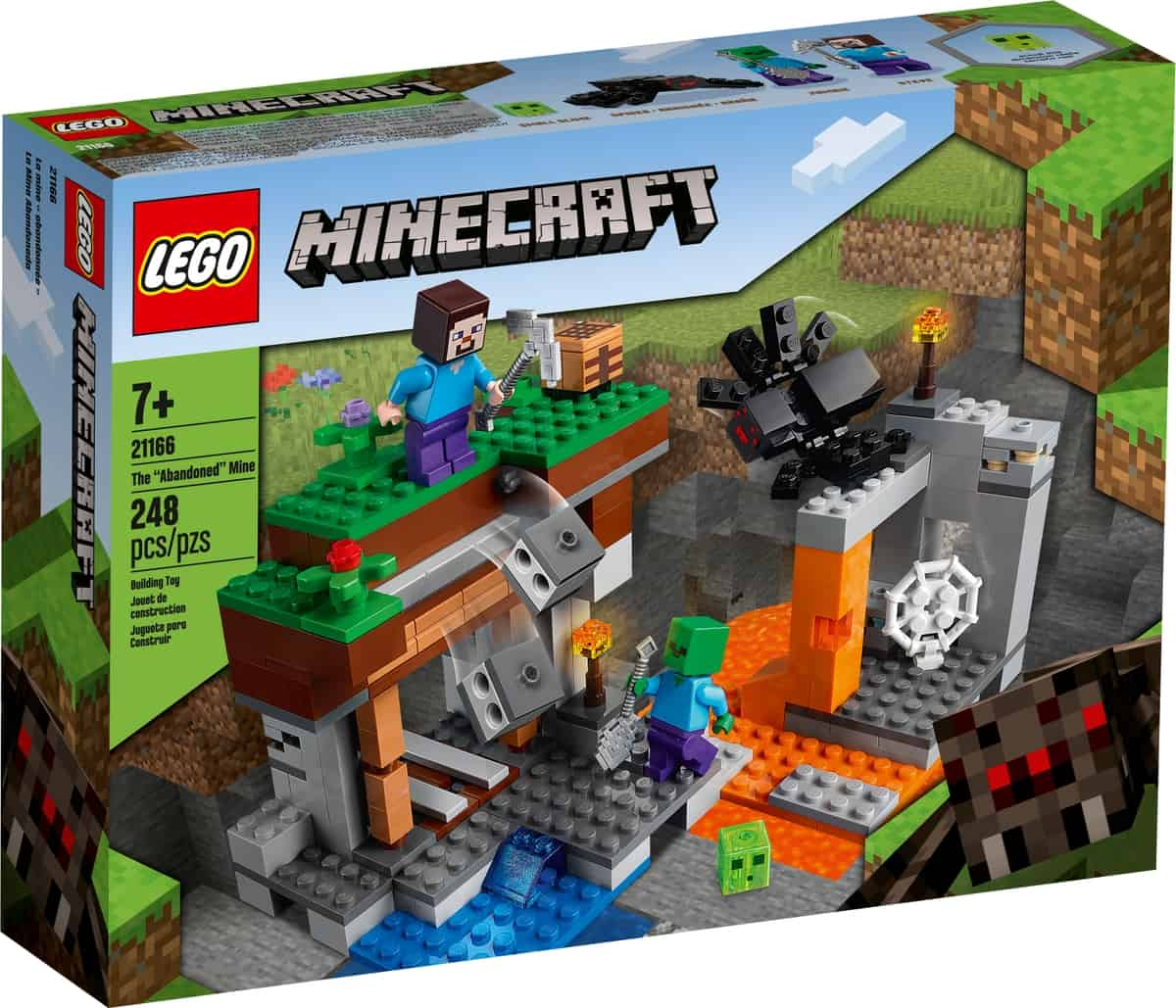 lego 21166 the abandoned mine