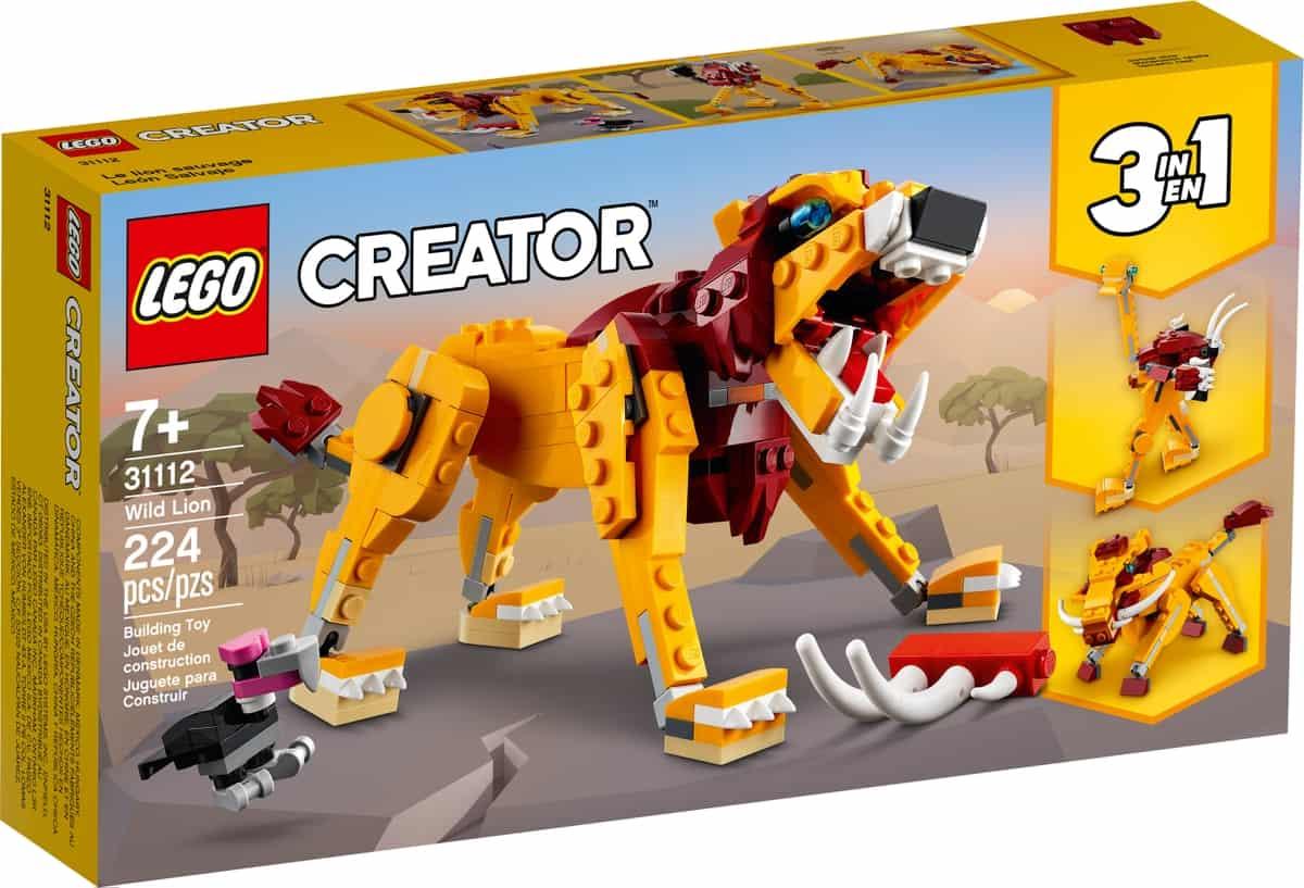lego 31112 wild lion