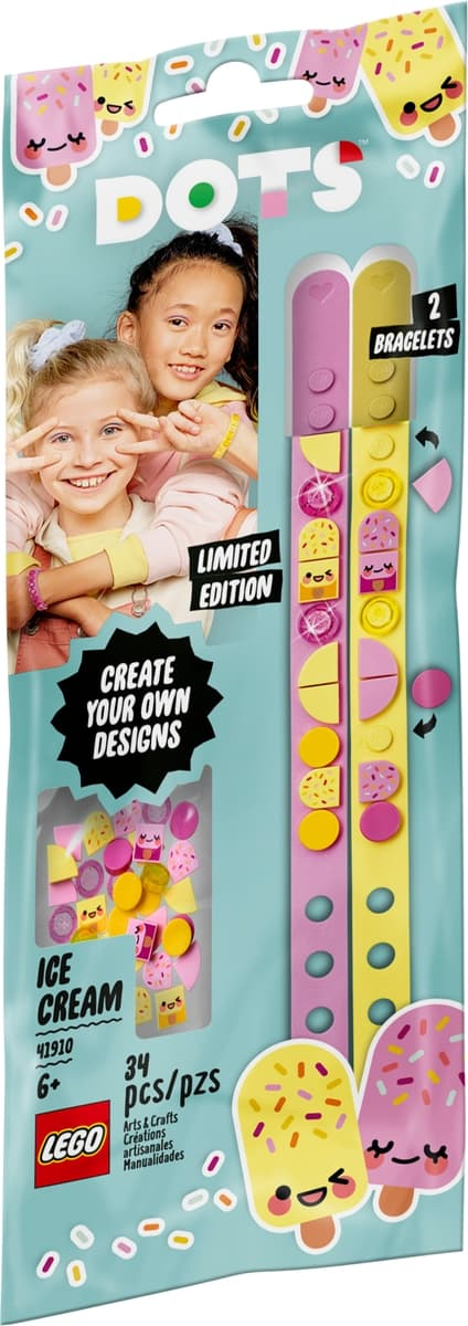 lego 41910 ice cream besties bracelets