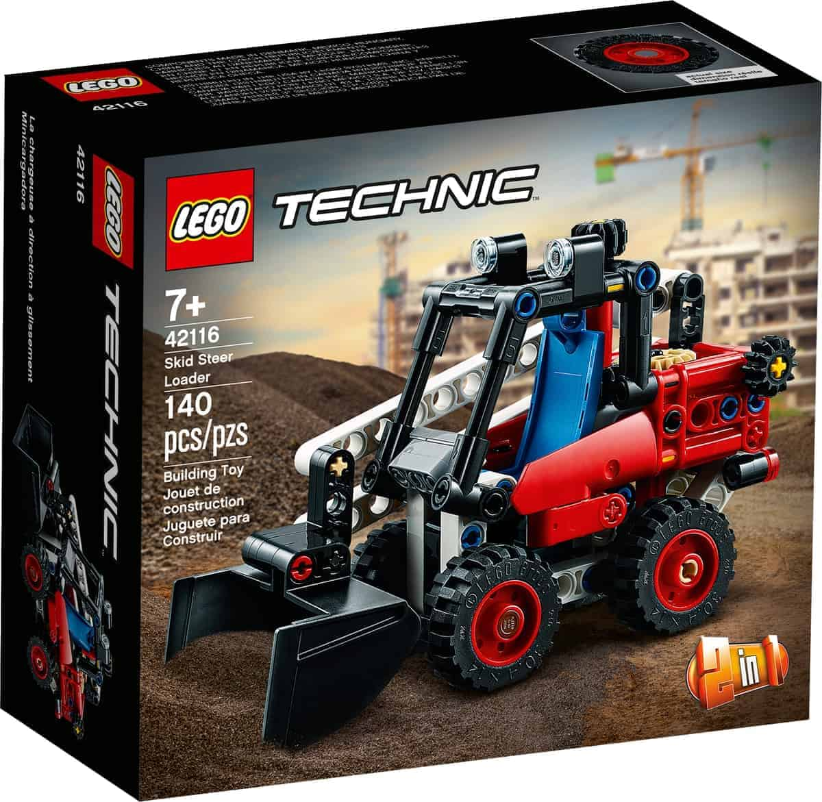 lego 42116 skid steer loader