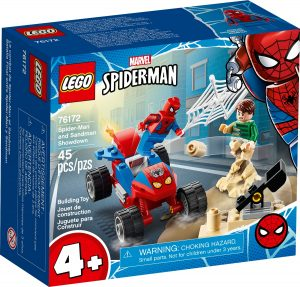 lego 76172 spider man and sandman showdown