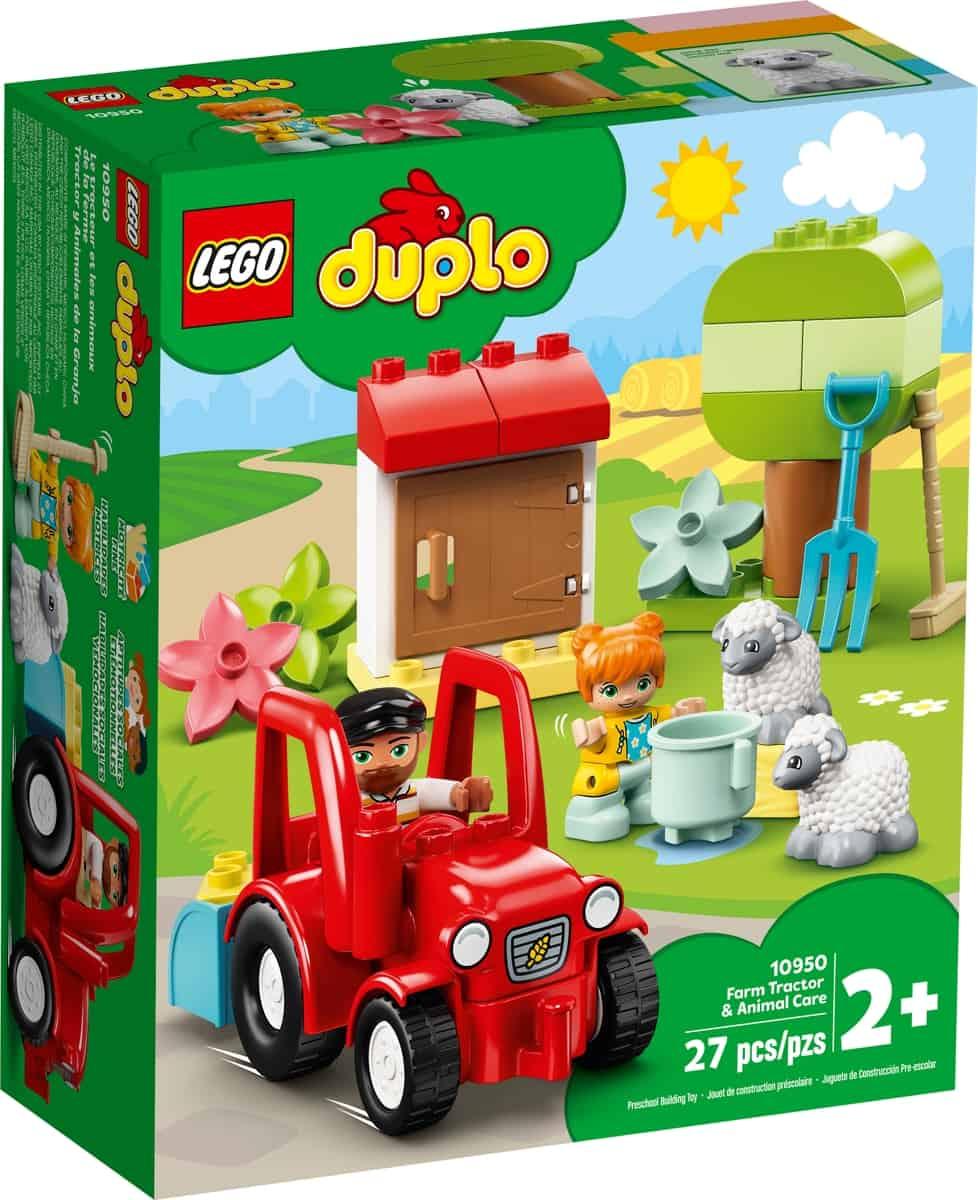 lego 10950 farm tractor animal care