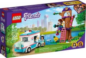 lego 41445 vet clinic ambulance