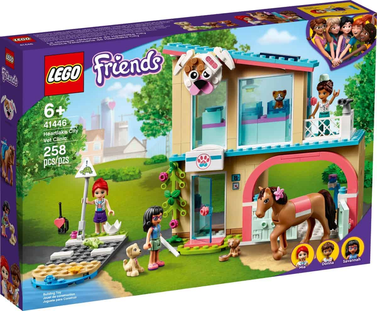 lego 41446 heartlake city vet clinic