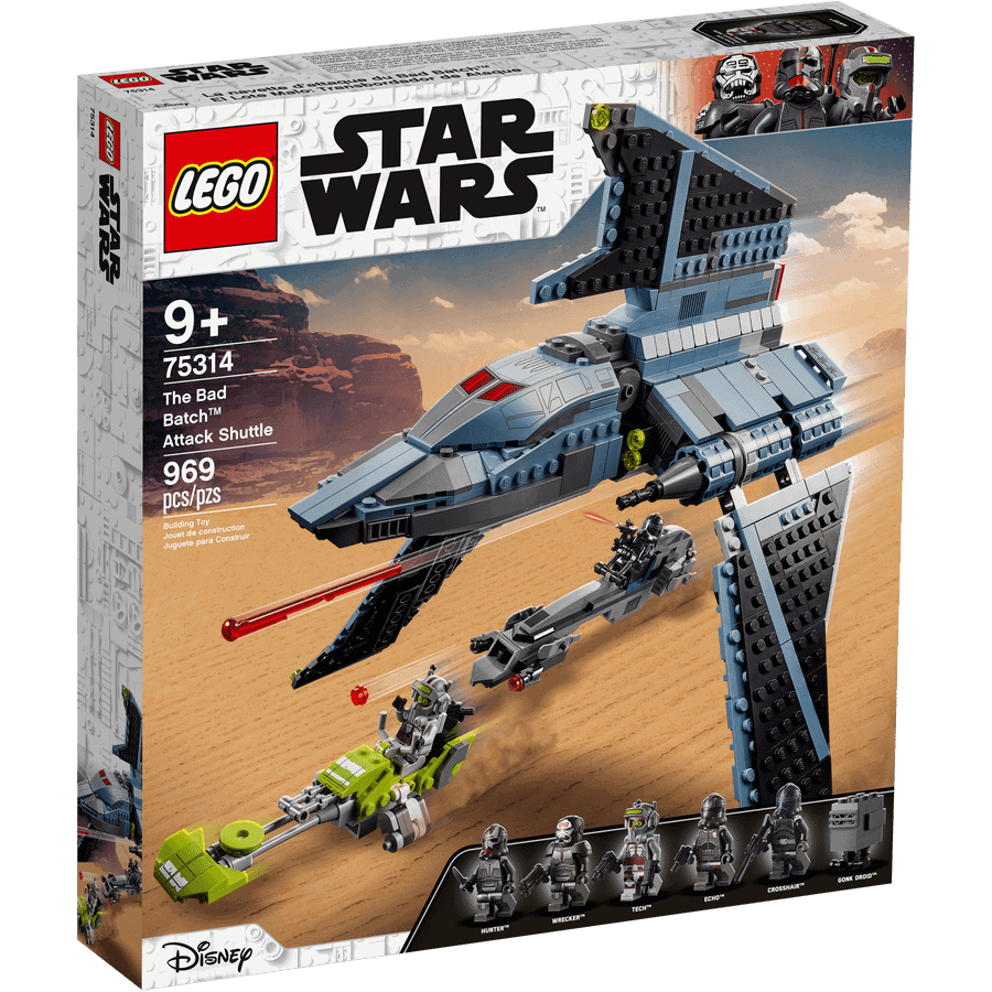 LEGO 75314 The Bad Batch Attack Shuttle - 20210506