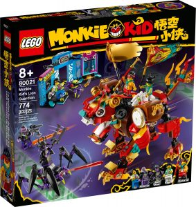 lego 80021 monkie kids lion guardian