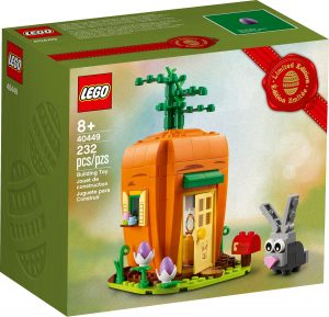 lego 40449 easter bunnys carrot house