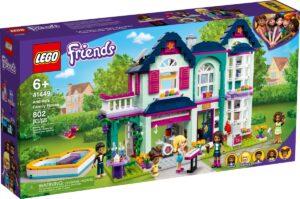lego 41449 andreas family house