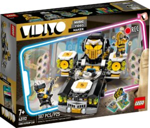 lego 43112 robo hiphop car