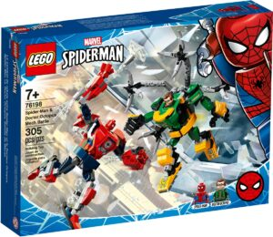 lego 76198 spider man doctor octopus mech battle