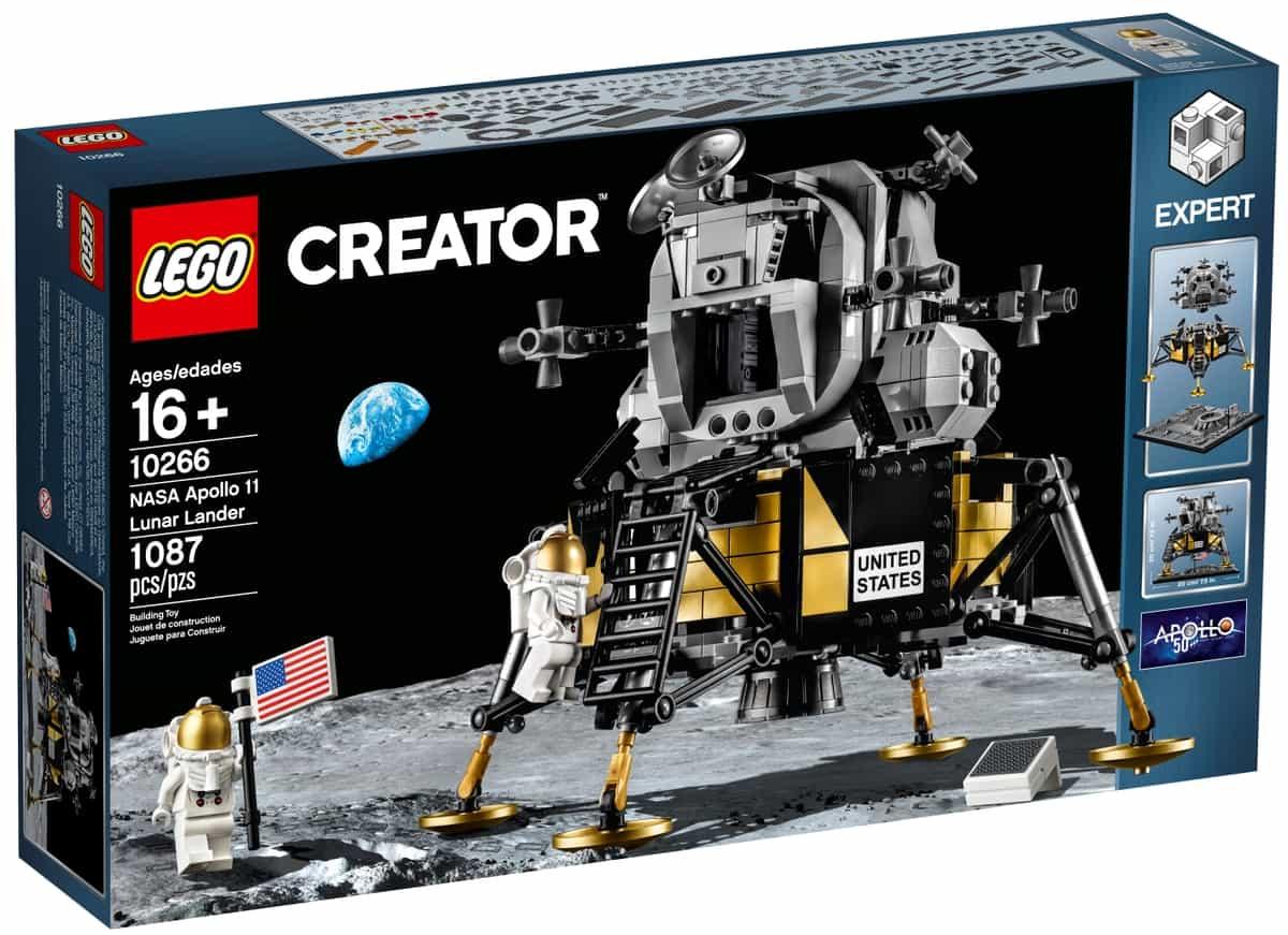 lego 10266 nasa apollo 11 lunar lander