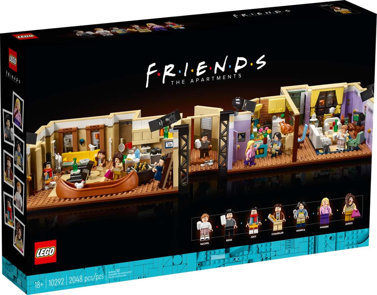 lego 10292 the friends apartments