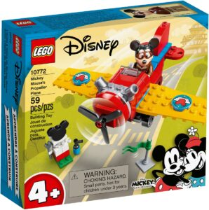 lego 10772 mickey mouses propeller plane