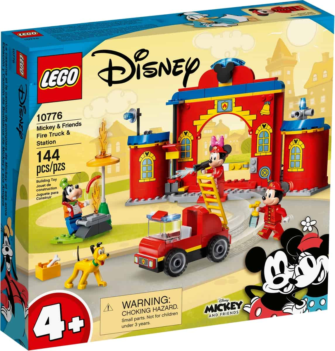 lego 10776 mickey friends fire truck station
