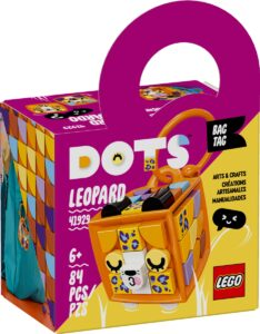 lego 41929 bag tag leopard