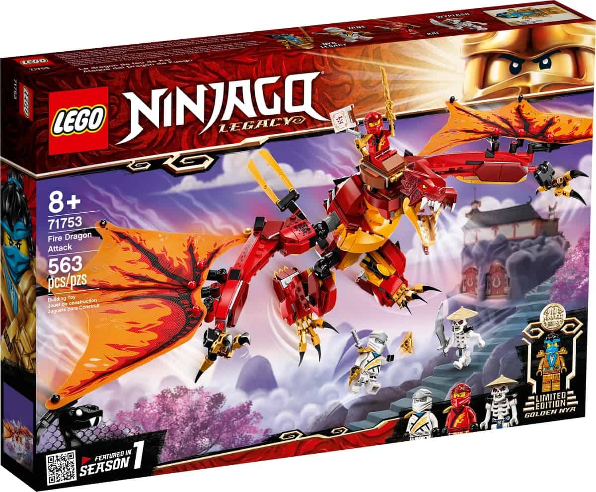 lego 71753 fire dragon attack