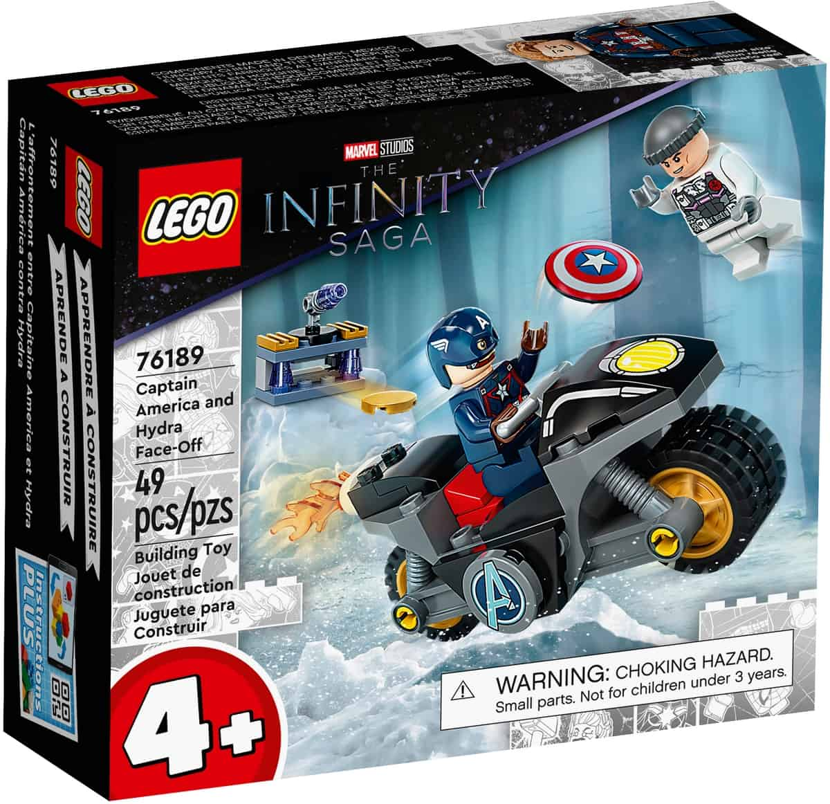 lego 76189 captain america and hydra face off