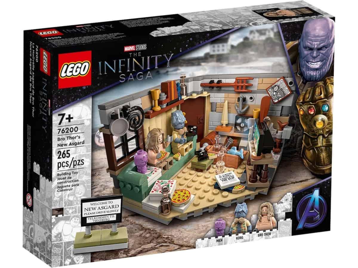 LEGO 76200 Bro Thor's New Asgard - 20210702