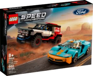 lego 76905 ford gt heritage edition and bronco r