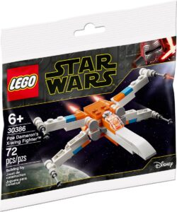 lego 30386 poe damerons x wing fighter