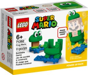 lego 71392 frog mario power up pack
