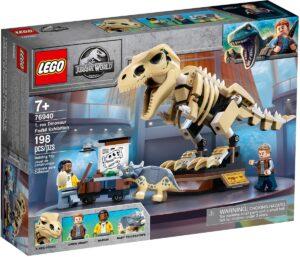 lego 76940 t rex dinosaur fossil exhibition