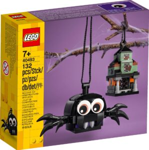 lego 40493 spider haunted house pack