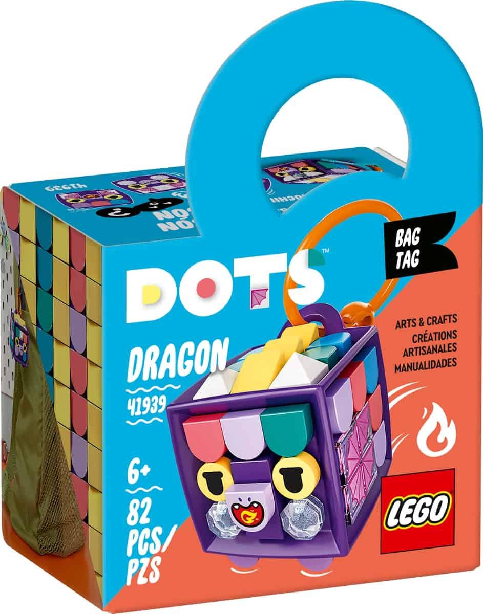 lego 41939 bag tag dragon