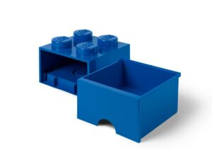 lego 5006130 storage brick drawer 4 blue