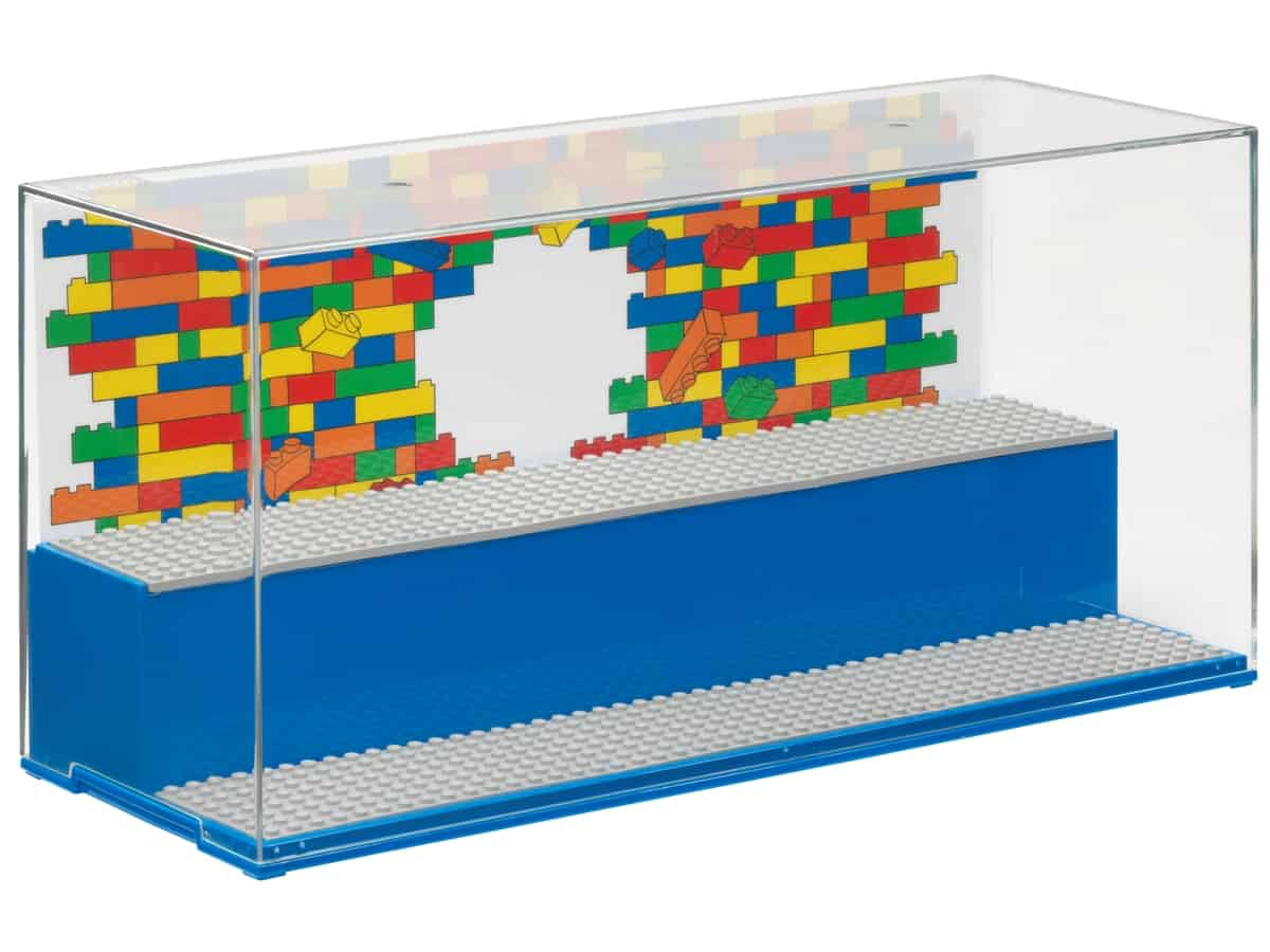 lego 5006157 play and display case blue