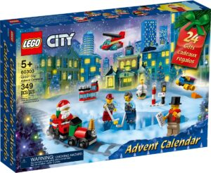 lego 60303 city advent calendar