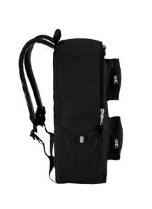 lego 5005537 brick backpack black