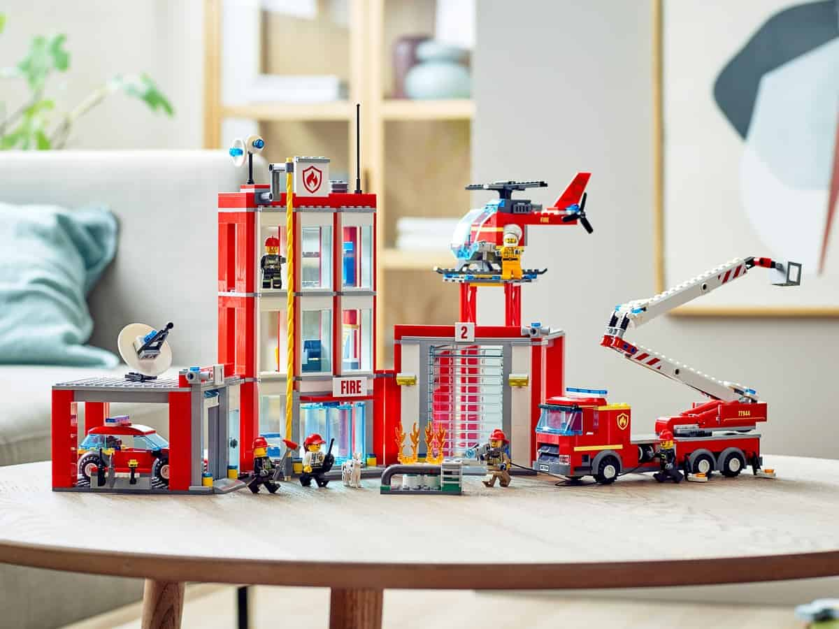 lego 77944 fire station headquarters