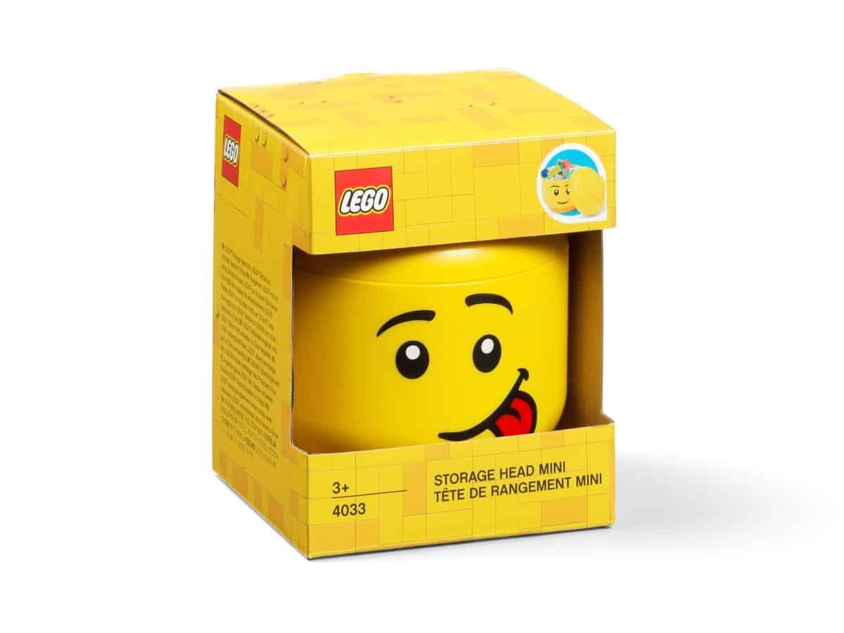 lego 5006210 storage head mini silly