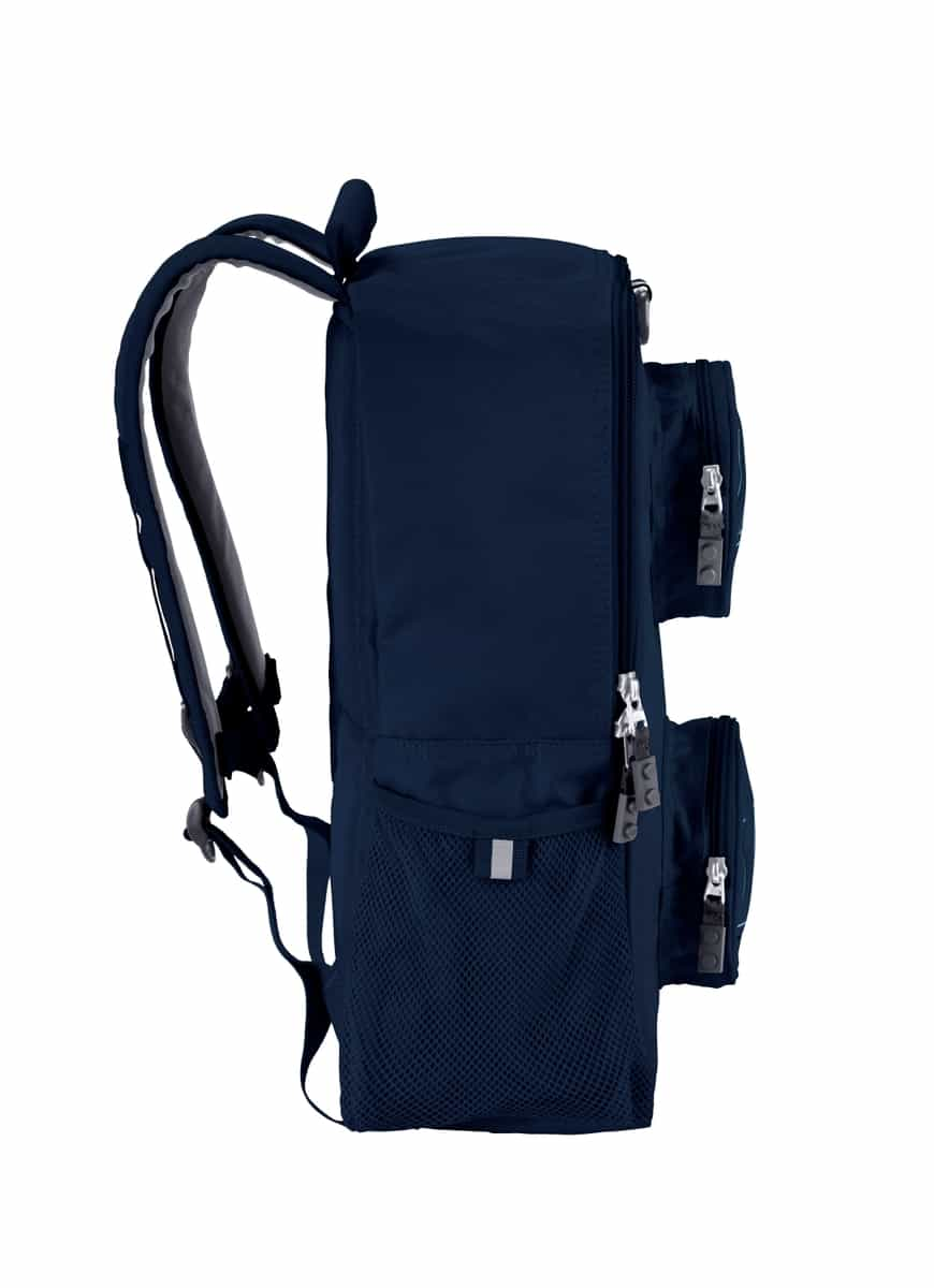 lego 5006741 brick backpack navy